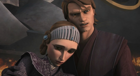 Amidala and Skywalker on Scipio