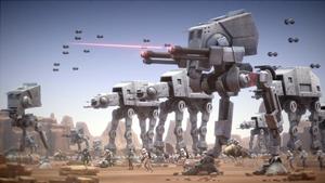 Various Imperial walkers