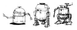 Astromechs sketches AofST