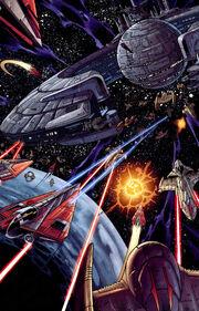 Kamino space battle
