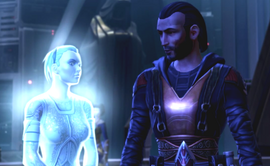 Revan and Exile ghost