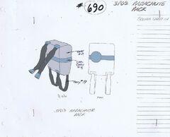 Parachute pack concept