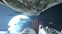 SWBF2 Battle of Naboo Space