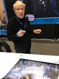 Clive Revill autograph session