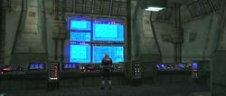 Mandalorian Outpost command center
