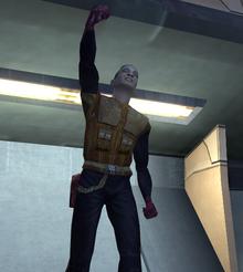 Deadeye Duncan salute