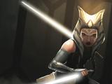 Белые световые мечи Асоки Тано