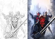 Darth maul son of dathomir variants by chrisscalf-d7fn7w9