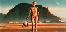 C-3PO Rd-D2 McQuarrie