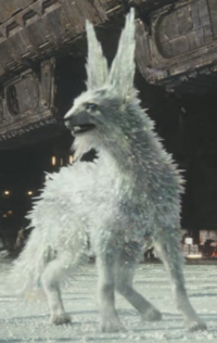Crait crystal creature