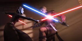 Barriss vs Anakin