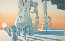 Imperial troopers and walker feet