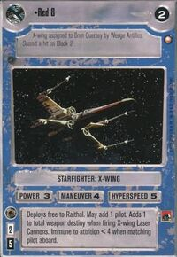 Red8 X-wing