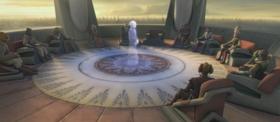 Совет джедаев (Пропавшая, часть 1)