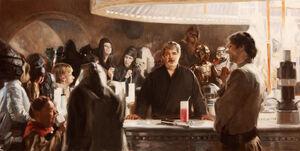 George Lukas bartender