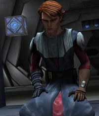 Skywalker opens holocron