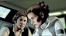 Han and leia frigate
