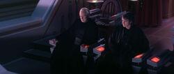 Palpatine und Anakin