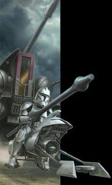 Lancer trooper
