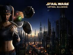 Star wars lethal alliance coruscant wallpaper