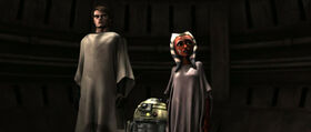 Скайокуер, Асока и дроид R3-S6