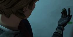 Anakin finds green blood