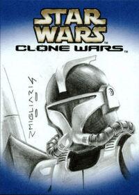 Clone trooper by Rodolfo Migliari