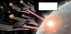 Infinite Empire orbital bombardment DotJ09