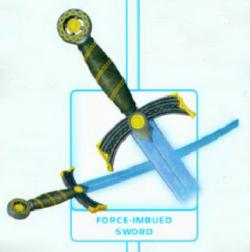Force-imbued blade TEGW