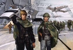 Before mission to Endor by Christopher Moeller