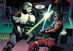 Люк против Крила на Предвестнике