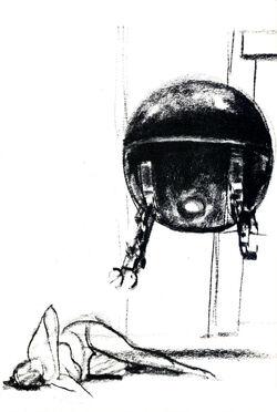 Driod interrogates Leia SWI24