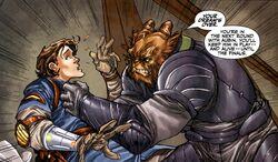Goethar threatens Zayne