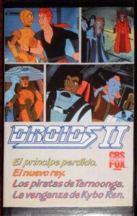 Droids 2 VHS Spain