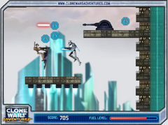 Jetpack Trooper game screen