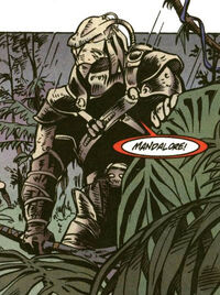 Mandalorian on dxun