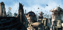 Coruscant reconstruction