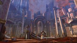 Jedi Temple ruins SWTOR