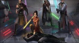 Jedi strike team (Capture of Darth Revan)
