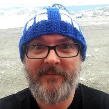 Sean Williams in Antarctica
