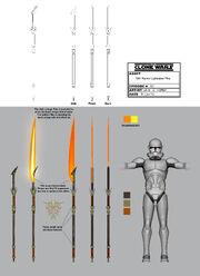 Sith warrior lightsaber pike bts