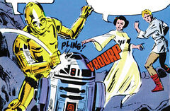 Bickering droids