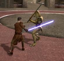 Revan kills the One