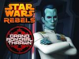 Гранд-адмирал Траун. Кинокомикс «Звёздные войны: Повстанцы»