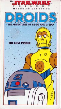 The Lost Prince VHS