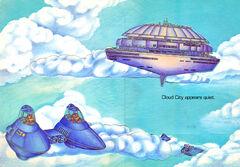 Cloud city pop-up