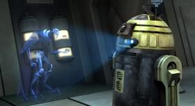 R2-S6 передает информацию Гривусу
