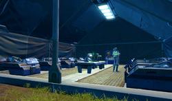 Triage tent