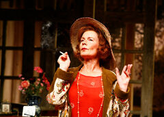 Celia Imrie at Hay Fever