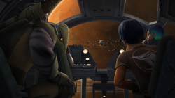 The rebels arrive at Geonosis